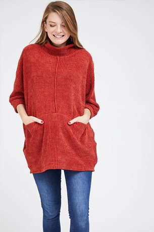 Picture of Mandy Knit Top Brick