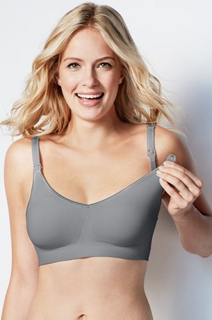 Picture of BRAVADO Seamless Nursing Bra Grey