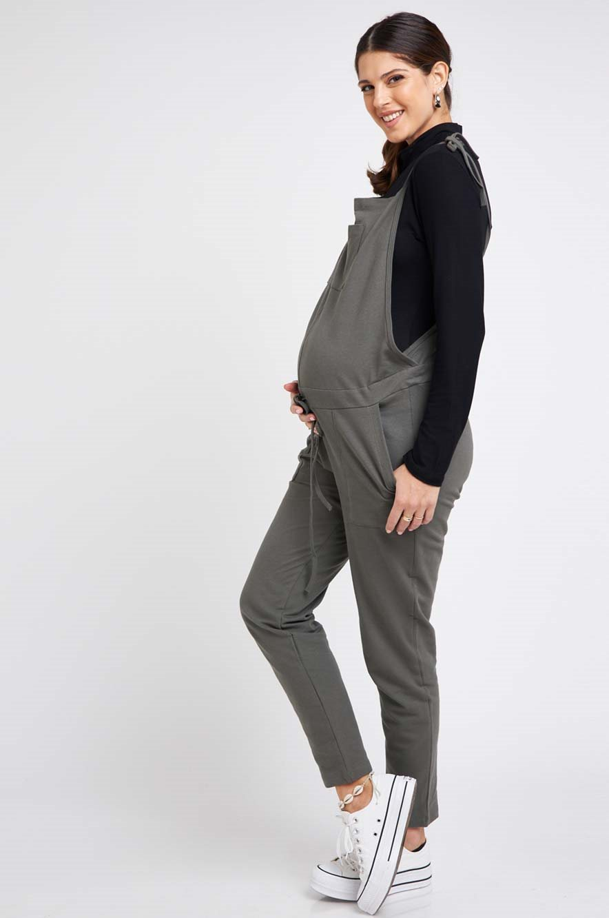 Picture of Rotem long Overalls Olive