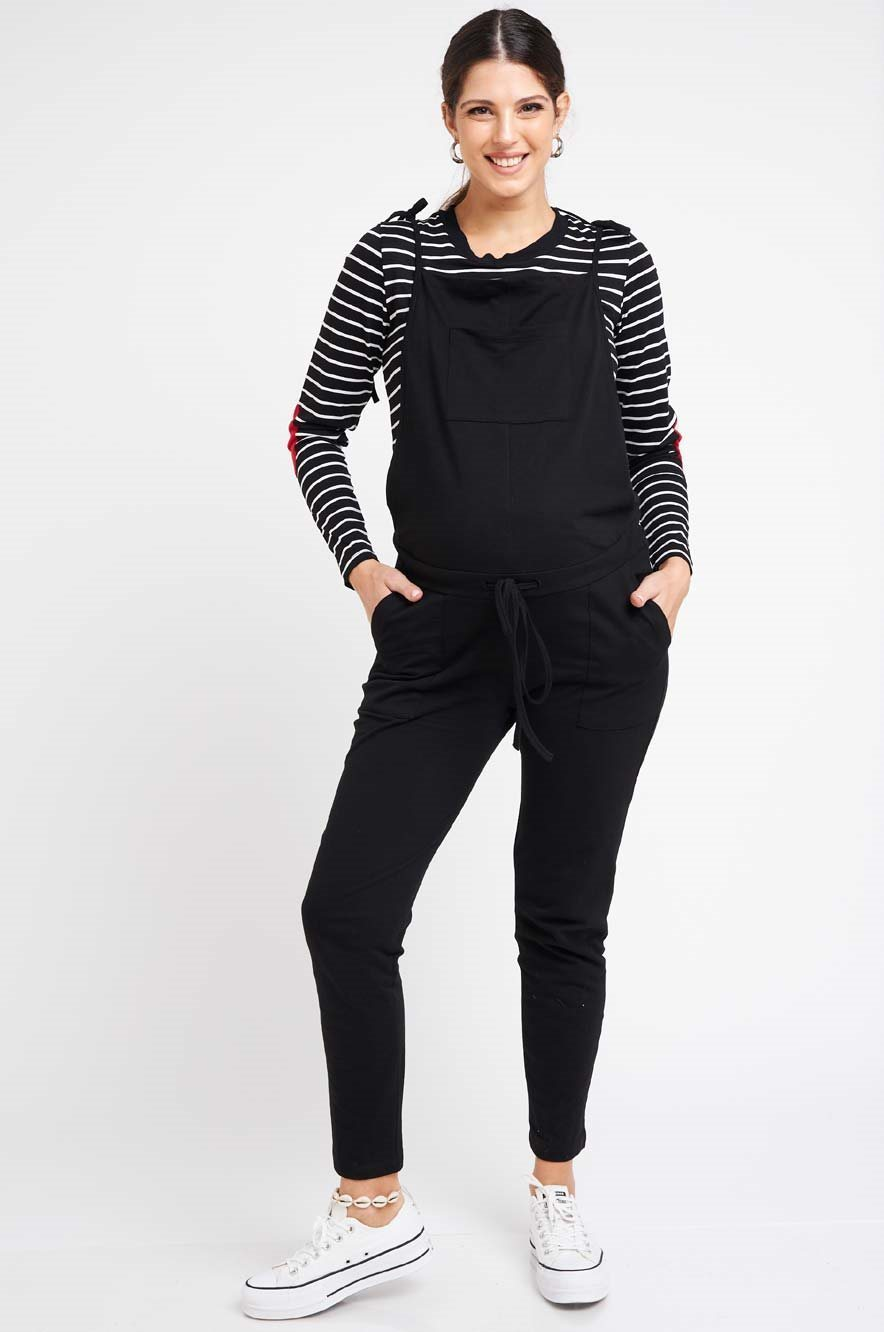 Picture of Rotem Long Overalls Black
