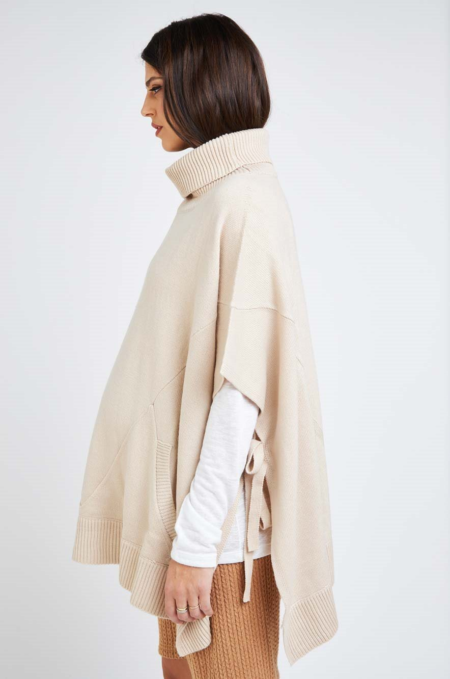 Picture of Loren Poncho Cream