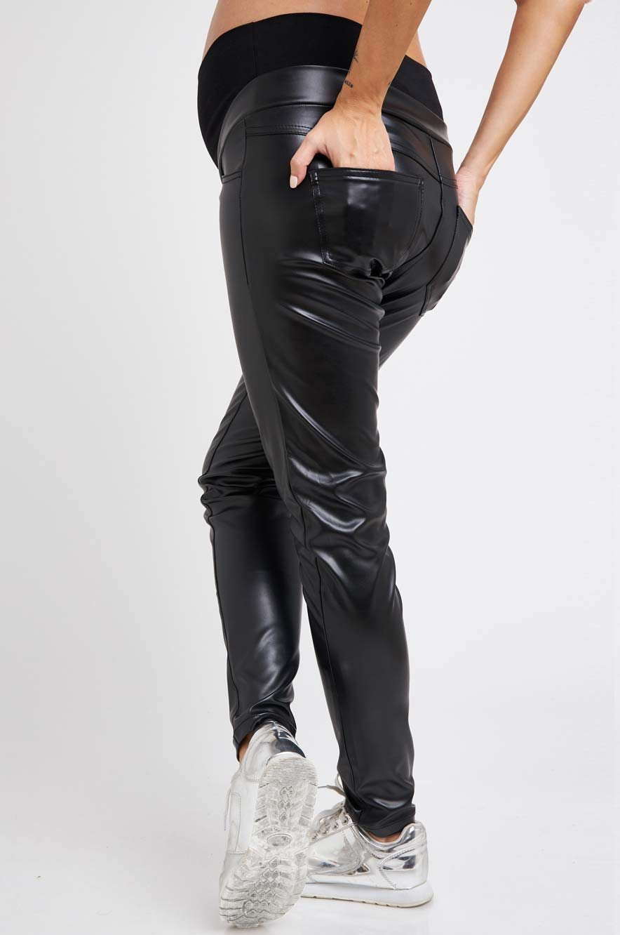 Picture of Kate Faux Leather  Pants