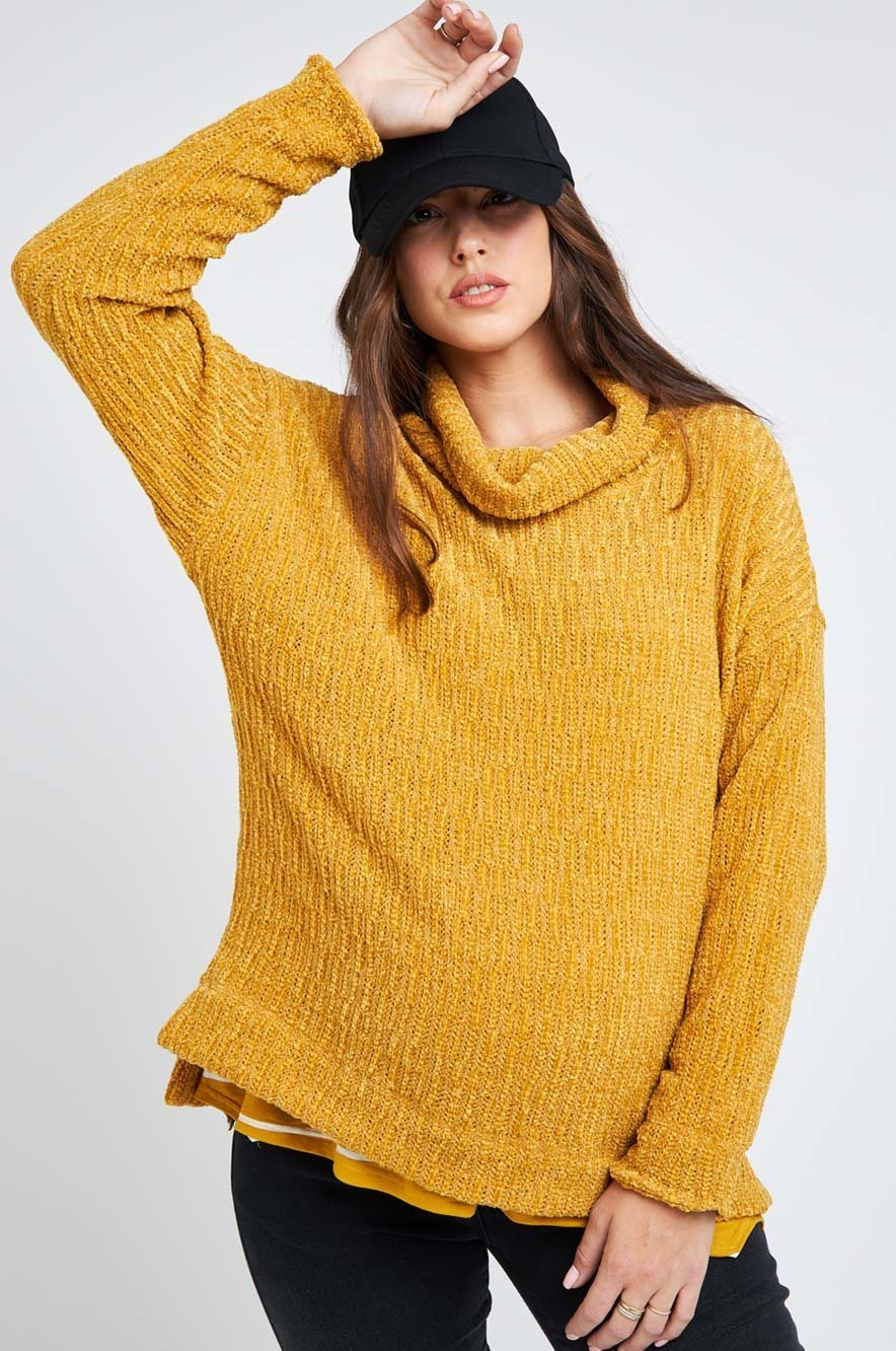 Picture of Nevada Sweater Mustard