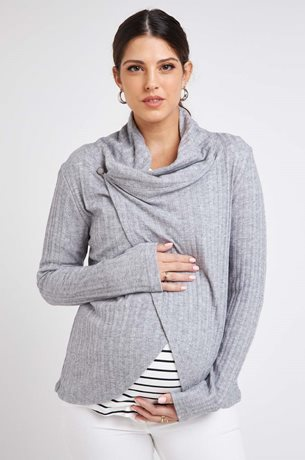 Picture of  Wrap Cardigan Grey