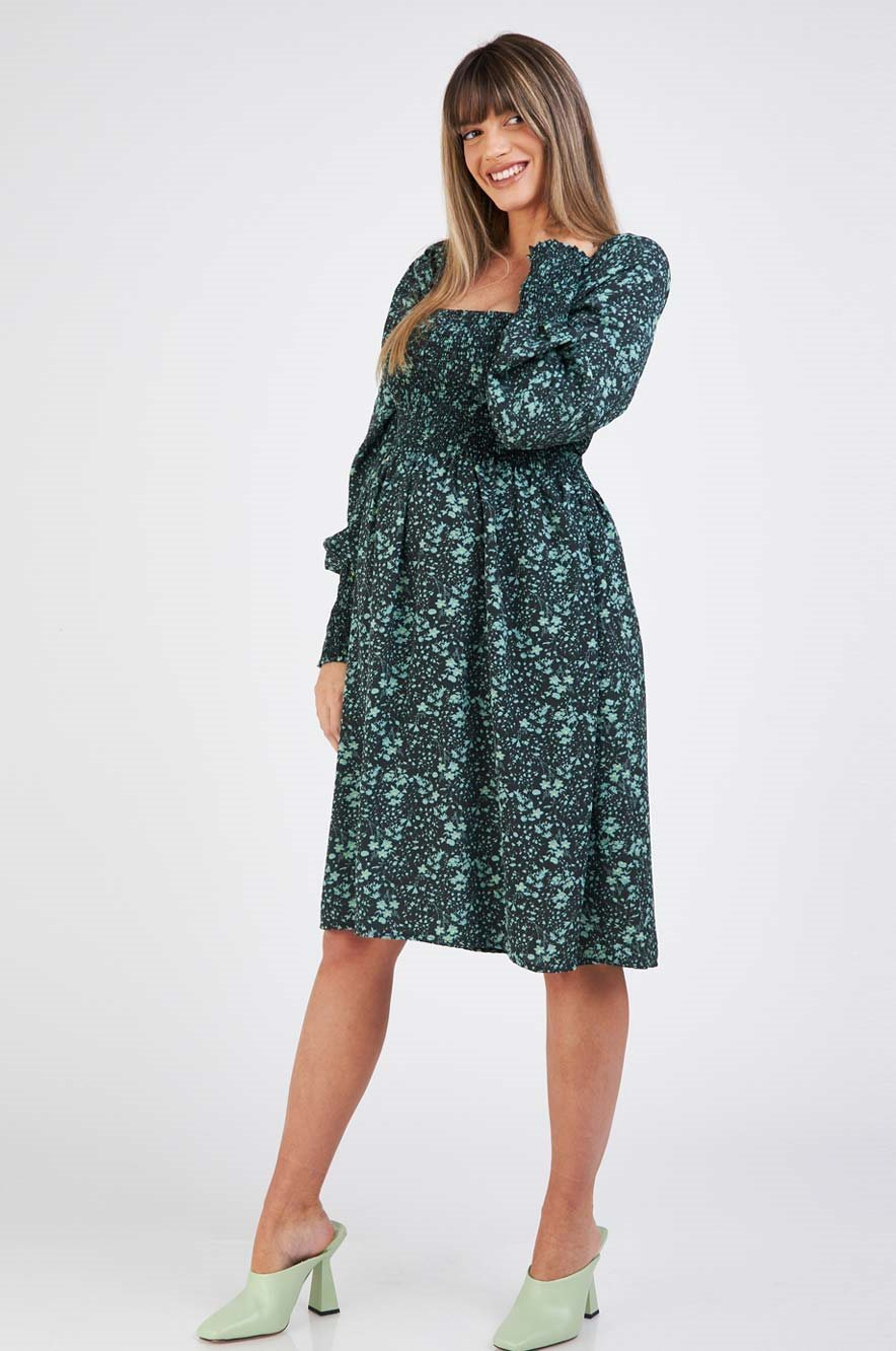 Picture of Natalie Maternity Dress Black