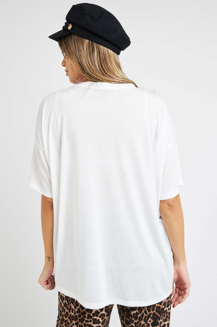Picture of LOVE T-shirt Cream