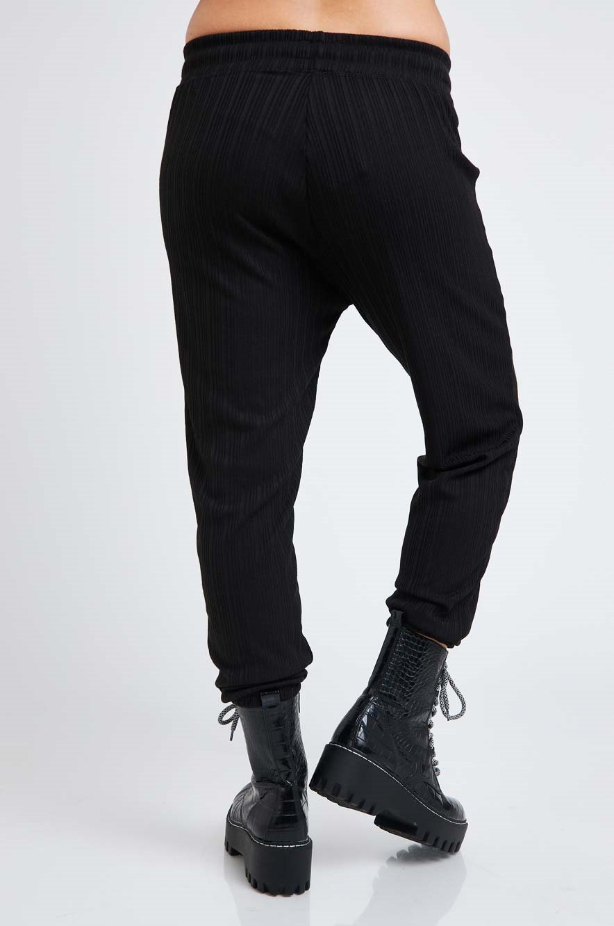 Picture of Netflix & Chill Maternity Pants Black