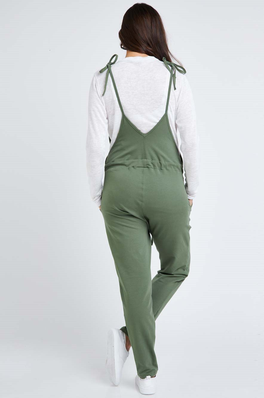 Picture of Rotem long Overalls Green