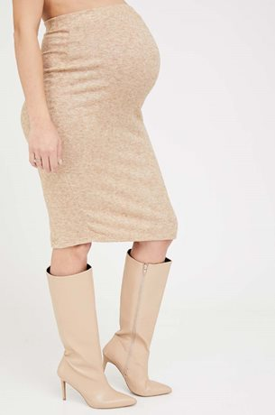 Picture of Madeleine Maternity skirt Beige