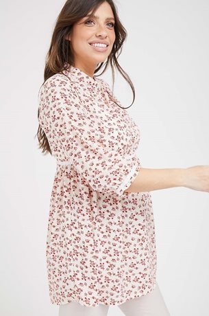 Picture of Mika Top Red Floral
