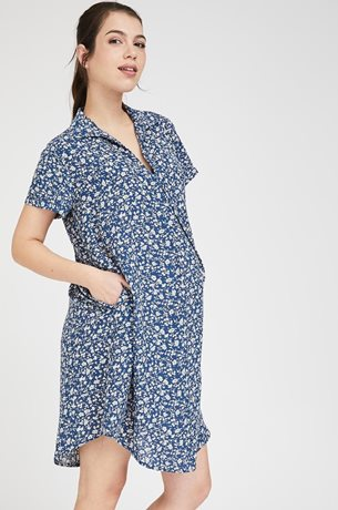 Picture of Maggie dress Floral Blue