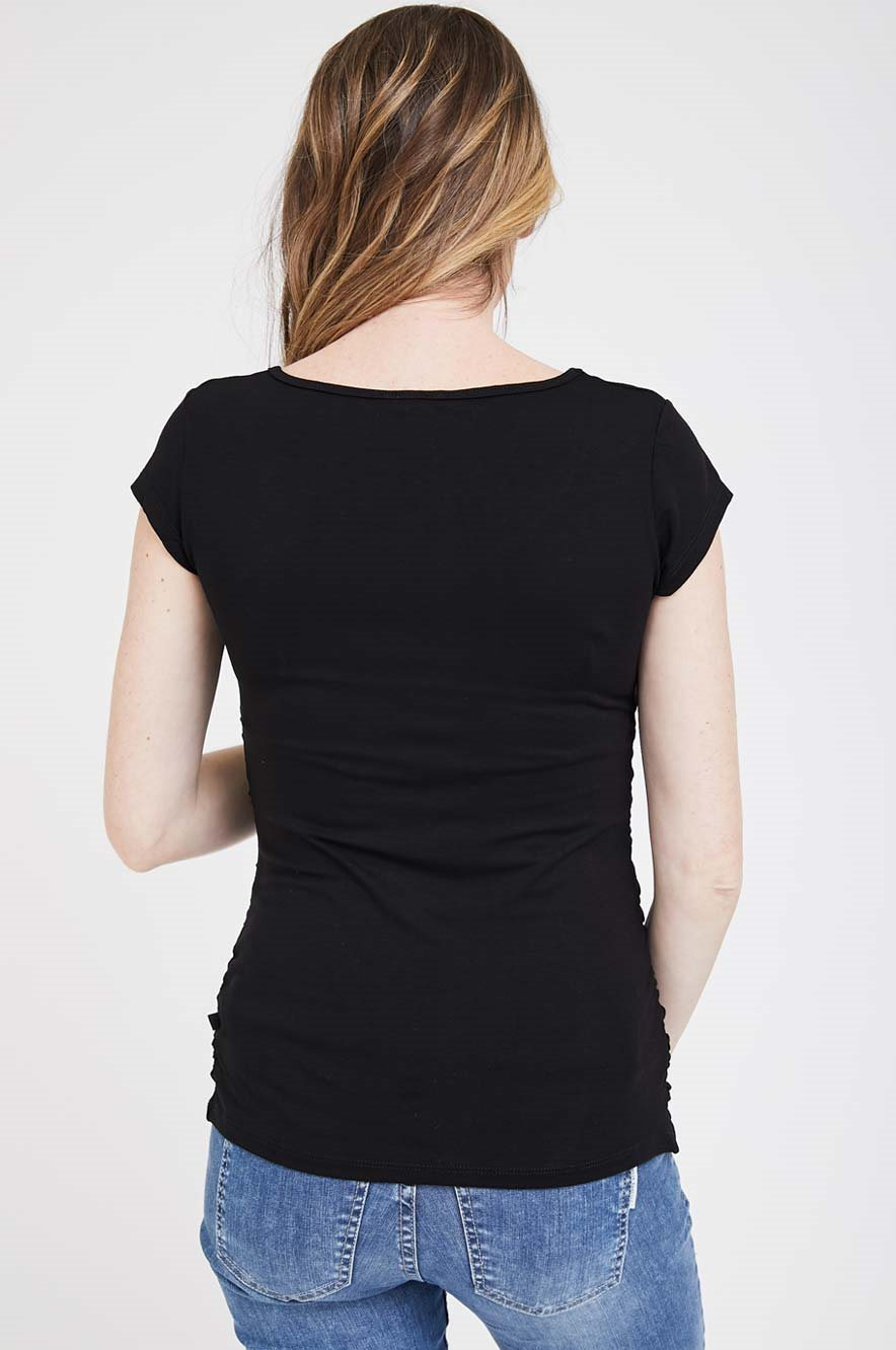 Picture of Baby Grow S.sleeve Top Black
