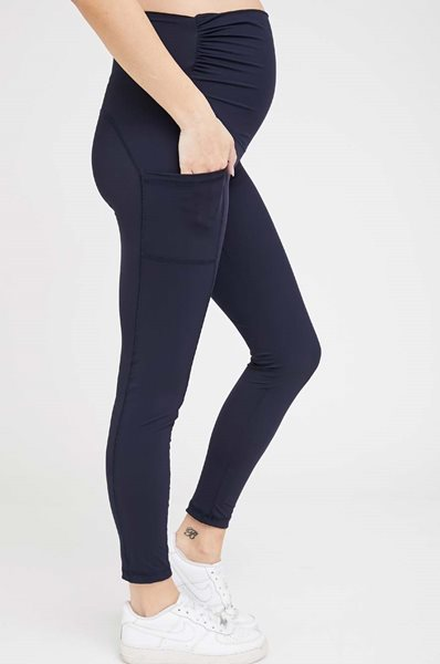Picture of Active Maternity Work-Out Leggings Navy