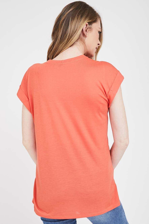 Picture of Le bump Maternity Tee Orange
