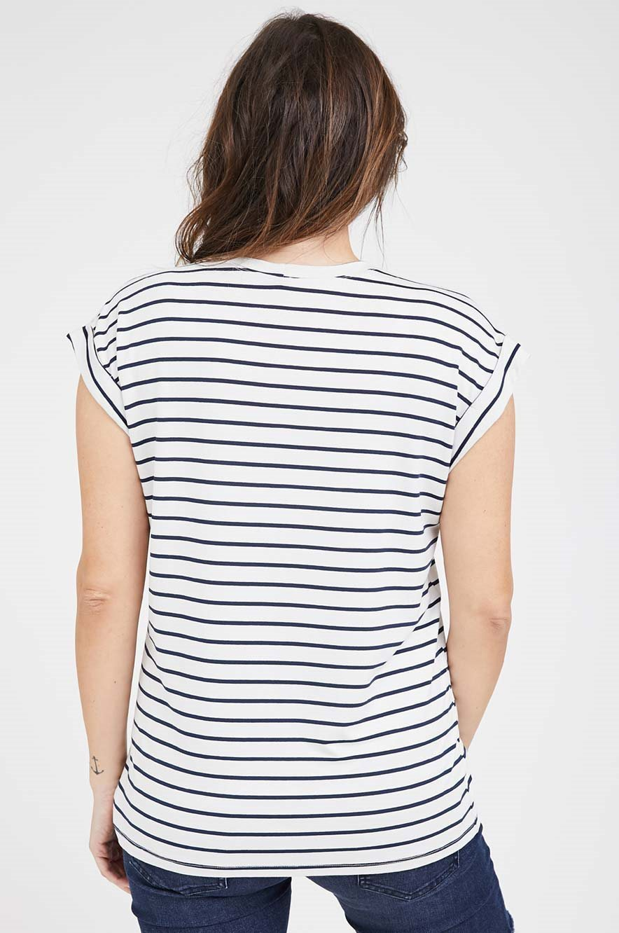 Picture of Le bump Maternity Tee Stripes