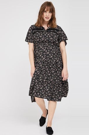 Picture of Melody Maternity Dress Black