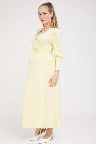 Picture of Eloise Maternity Dress Yellow
