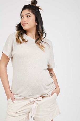 Picture of Romi Maternity T-shirt Beige