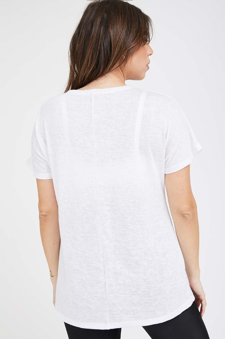 Picture of Romi Maternity T-shirt White