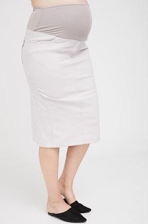 Picture of Roxanne Midi Skirt Cream