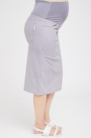 Picture of Roxanne Midi Skirt Grey