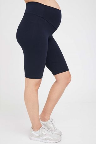 Picture of Maternity Biker Shorts Navy