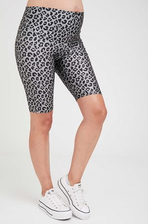 Picture of Printed Maternity Biker Shorts Green