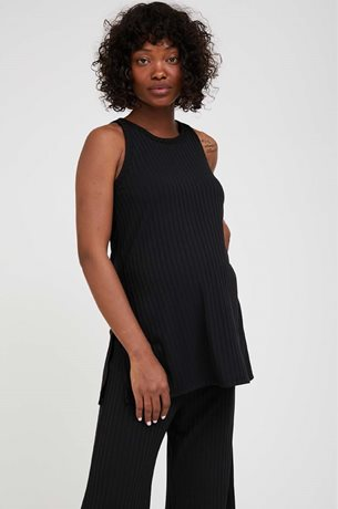 Picture of Robin Sleevless Pregnancy Top Black