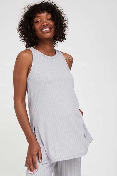Picture of Robin Sleevless Pregnancy Top Grey