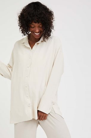 Picture of Frances Maternity Blouse Bleige