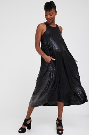 Picture of Taylor A shape Maternity Dress Black Print