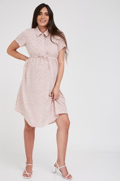Picture of Trini Front Tie Dress Pink Floral