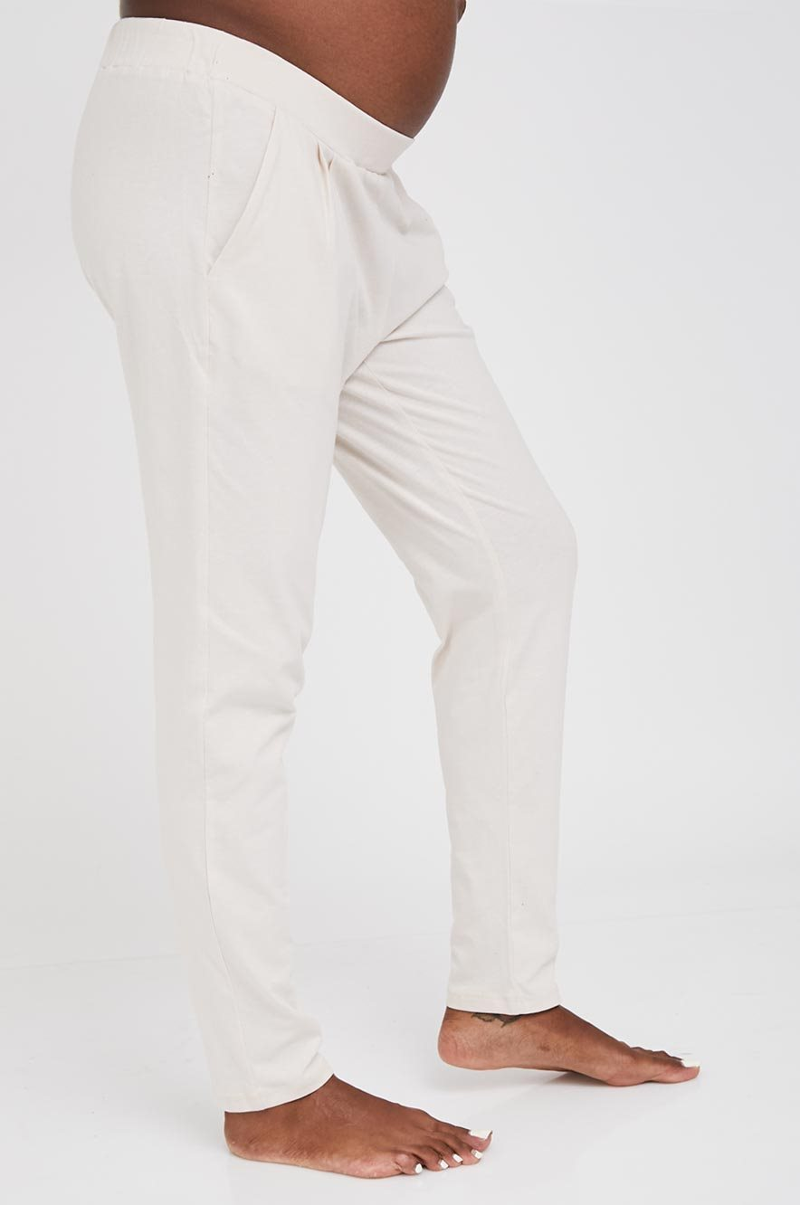 Picture of Compact Pants Stone