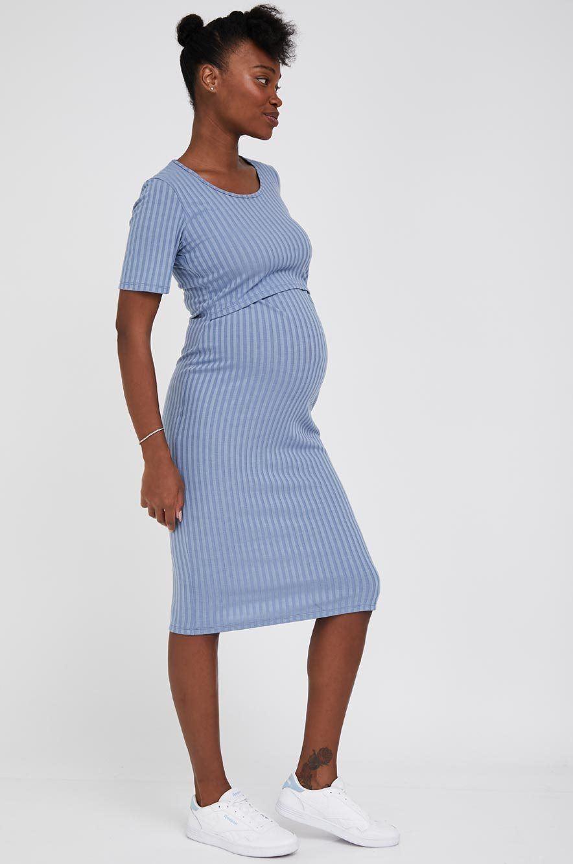 Picture of Lily Nursing Dress Light Blue