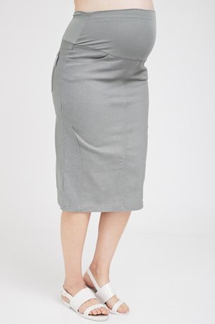 Picture of Roxanne Midi Skirt Olive Green
