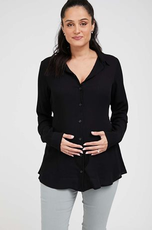 Picture of Lindos Maternity Top Black