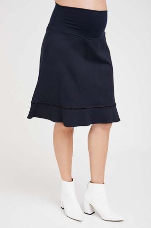 Picture of Corinne Maternity Midi Skirt Navy