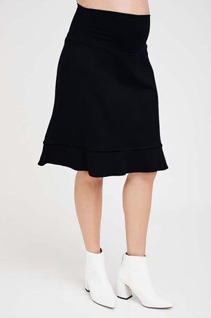 Picture of Corinne Maternity Midi Skirt Black