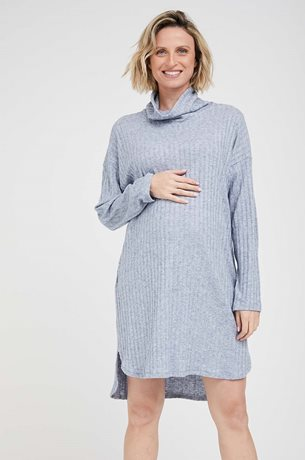 Picture of Margo Pregnancy Tunic Light Blue