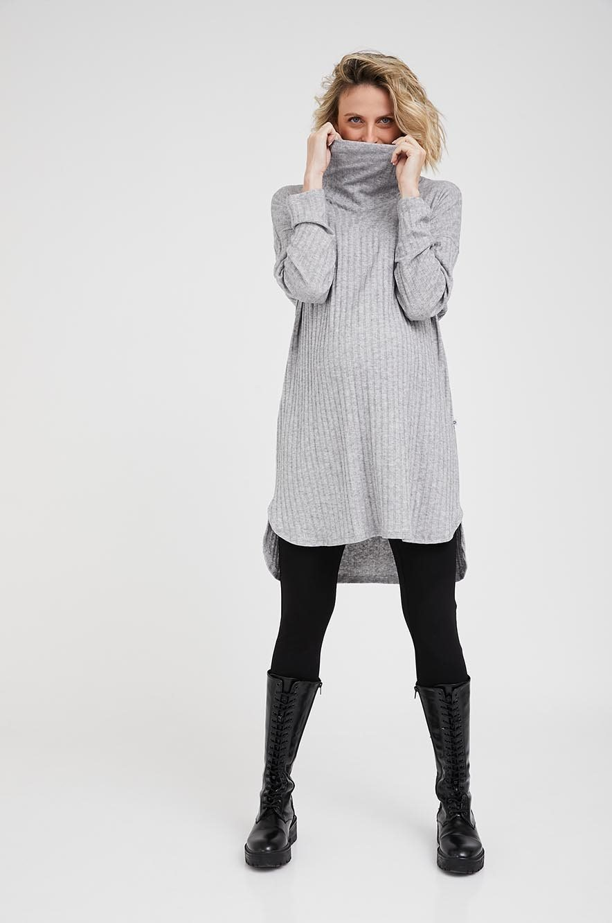 Picture of Margo Pregnancy Tunic Light Grey