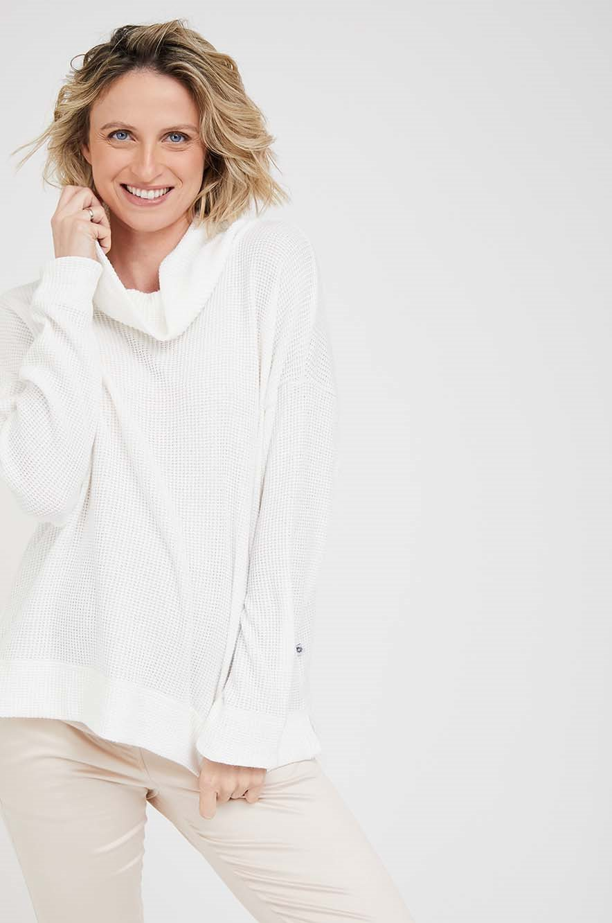 Picture of Tamar Maternity Sweater Camel