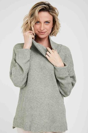 Picture of Tamar Maternity Sweater Green