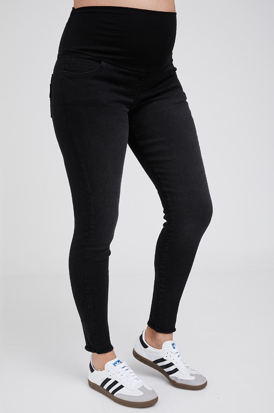 Picture of Olivia High Rise Skinny Maternity Jeans Blue