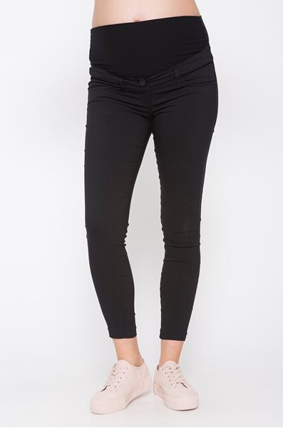 Picture of Cropped Vogue Pants Black