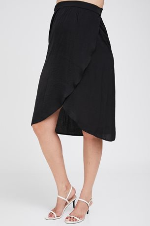 Picture of Wrap Maternity Skirt Black