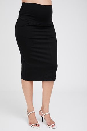 Picture of Olivia Jersey Skirt Black