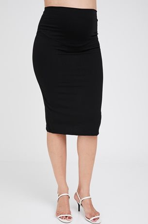 Picture of Pencil Maternity Skirt Black