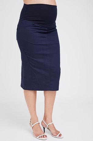 Picture of Roxanne Midi Skirt Navy