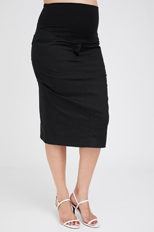 Picture of Roxanne Midi Skirt Black