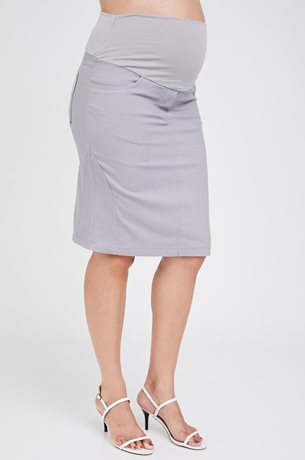 Picture of Roxy Maternity Skirt Grey